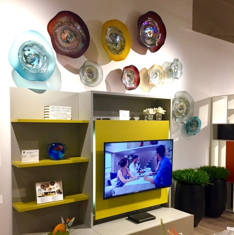 Living in Style and Color: Media Night at Sklar Furnishings