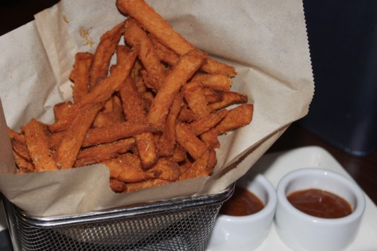 The Tuck Room Sweet Potato Fries and Curry Ketchup