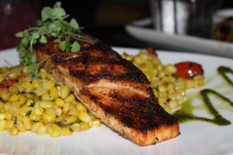 The Tuck Room Grilled Salmon