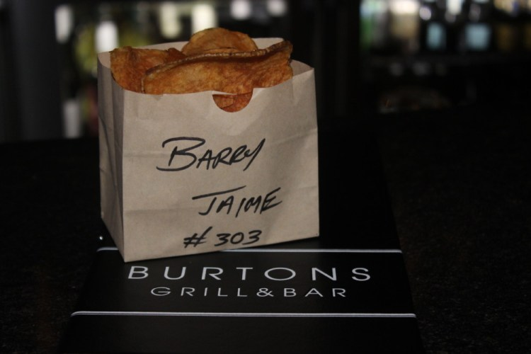 Burton's Grill and Bar House-made Potato Chips