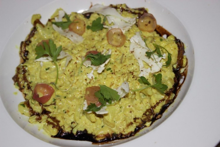The Rebel House Boca Raton Curried Cauliflower Risotto