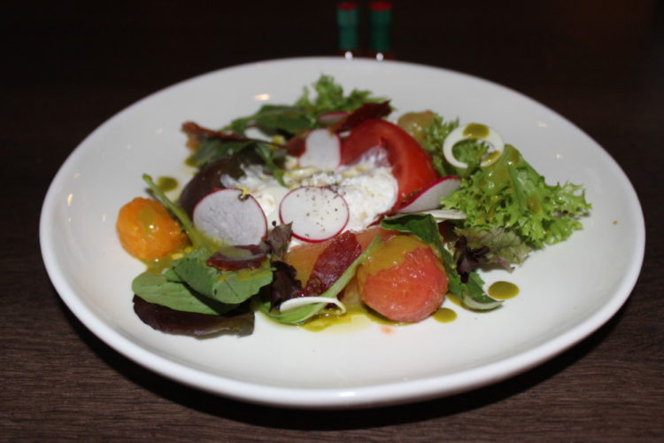 Terra Mare Fort Lauderdale Heirloom Tomato Salad