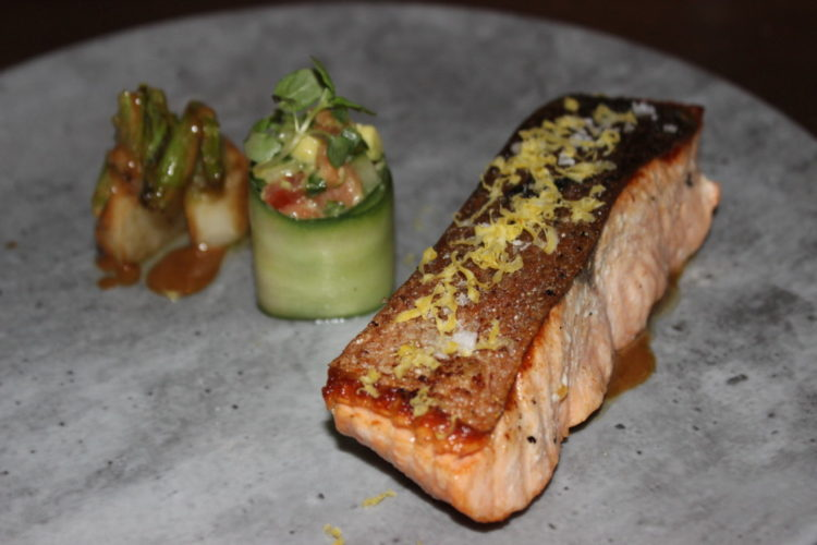 Terra Mare Fort Lauderdale Seared Salmon