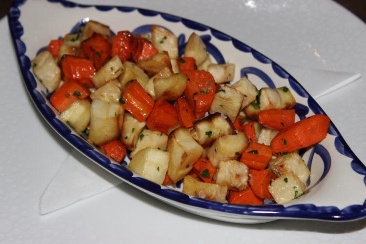 Terra Mare Fort Lauderdale Roasted Root Vegetables