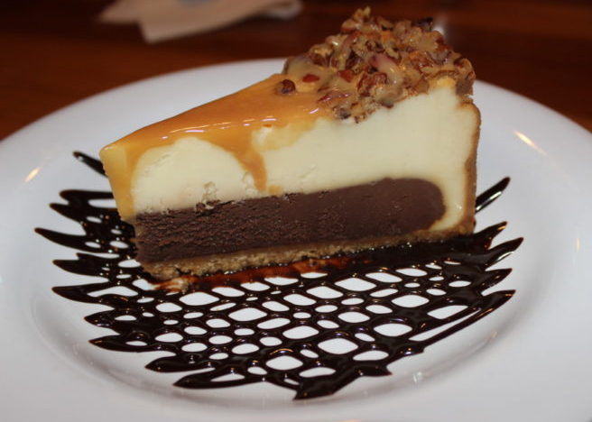 Hooters of Boca Raton, Caramel Fudge Cheesecake
