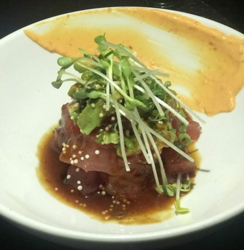 Monkitail, The Diplomat Beach Resort Tuna Poke