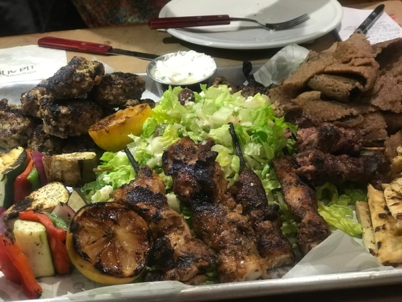 Oliv Pit Boca Raton, Mixed Grill Platter