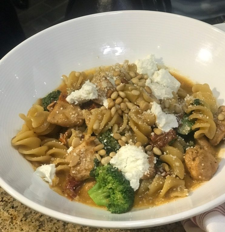 Prezzo Boca Raton, Fusilli and Chicken Pasta