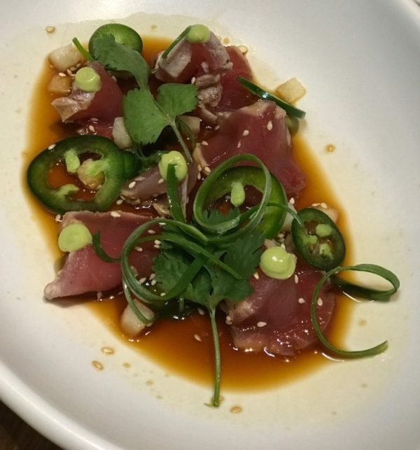 True Food Kitchen Boca Raton, Albacore Tataki