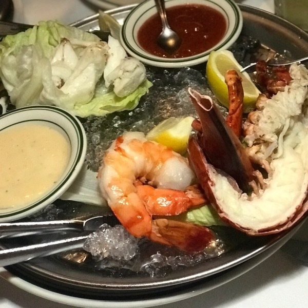 Wolfgang's Steakhouse Miami, Seafood Platter