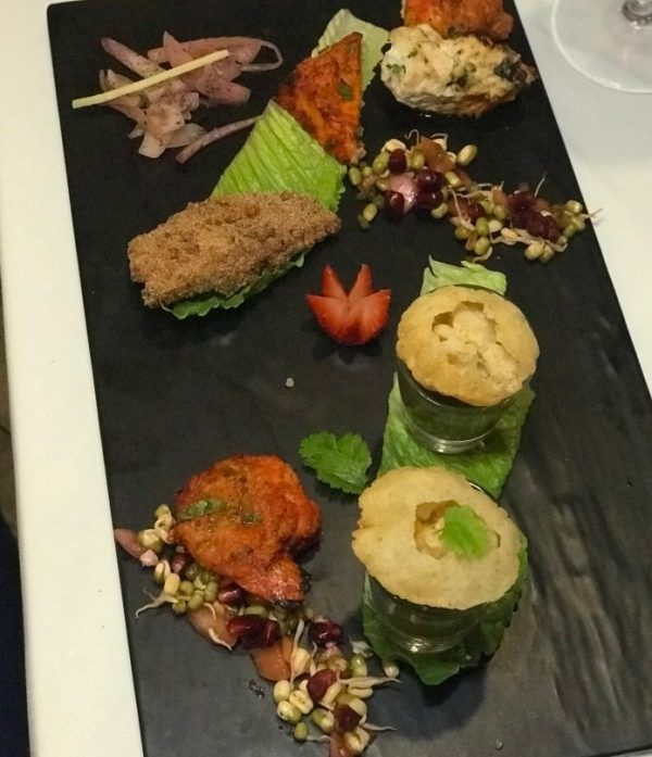 Tanjore Indian Cuisine, Appetizer sampler