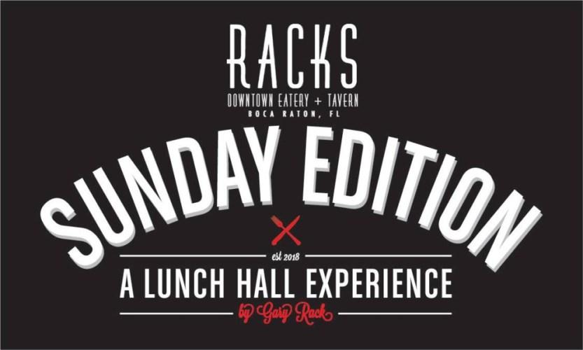 Racks Boca Raton Sunday Brunch