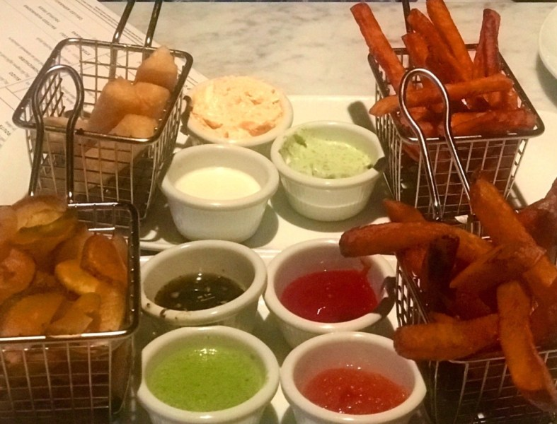 The Locale Boca Raton, Fries and Sauces