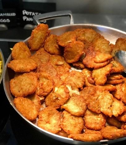 Brunch at Latitudes at the Delray Sands Resort, Potato Pancakes