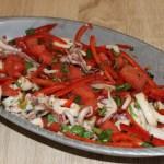 Tropical Pan-Asian Calamari Salad, Fresh From Florida