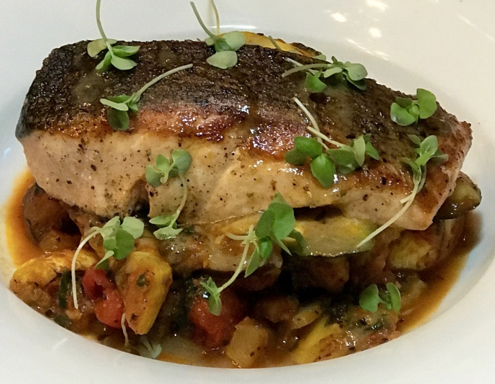 Square One Restaurant Boca Raton, Pan Roasted Salmon