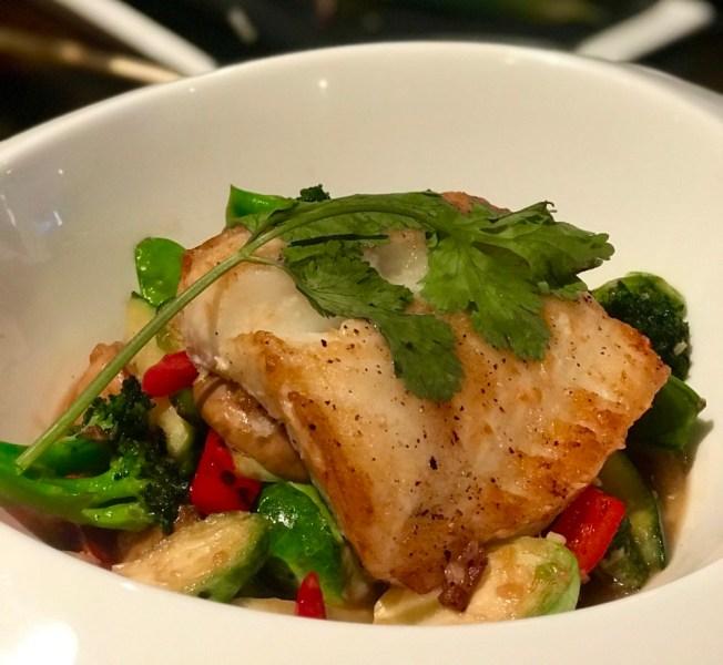 Saiko-i Sushi Lounge and Hibachi Boca Raton, Grilled Chilean Seabass