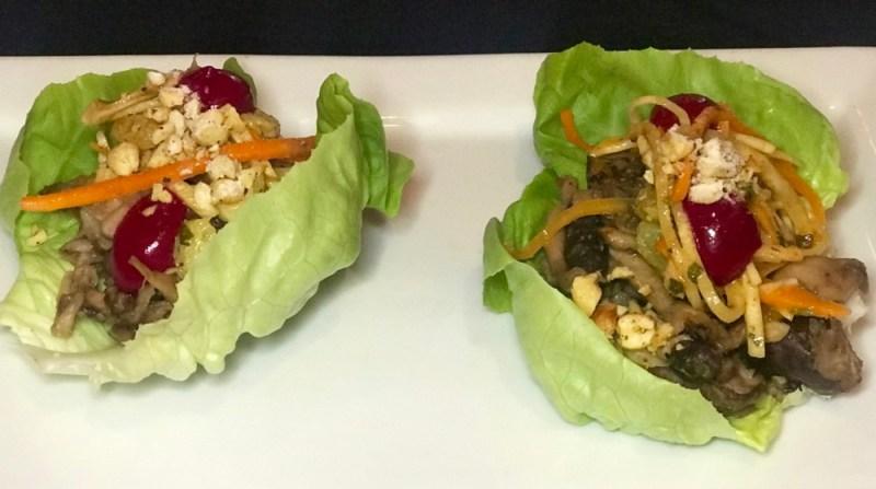 Rebel House Boca Raton, Vegan Mushroom Lettuce Wraps