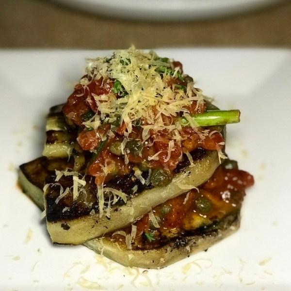 Rebel House Boca Raton, Griddled Eggplant