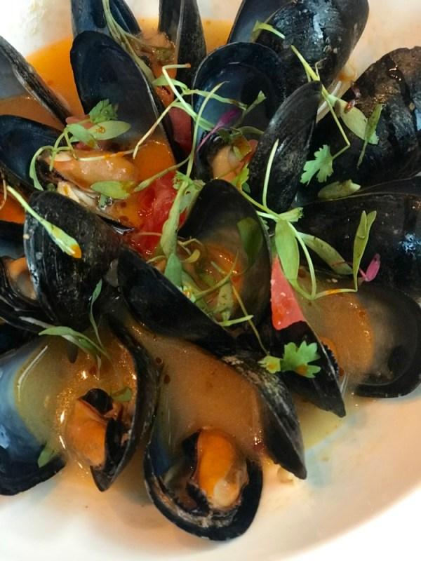 Boca Landing at the Waterstone Resort & Marina, Boca Restaurant Month Menu, Spanish Mussels