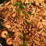 Gluten-Free Spicy Shrimp Pad Thai