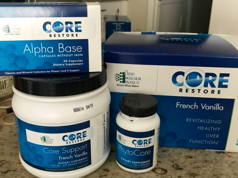 The Biostation Core Restore Detox Program