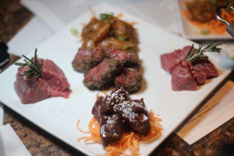 The Melting Pot Boca Raton, Meat