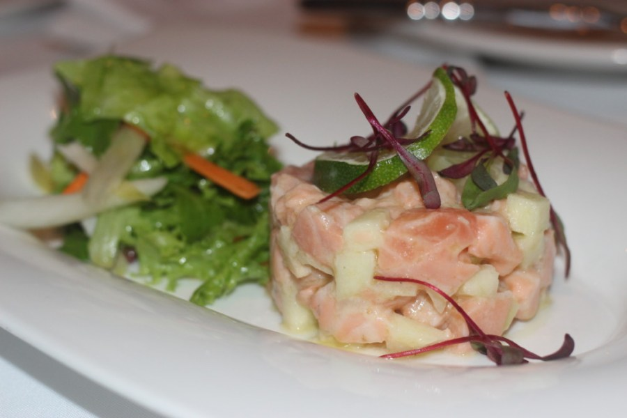 Paradiso Ristorante Lake Worth, Salmon Tartar