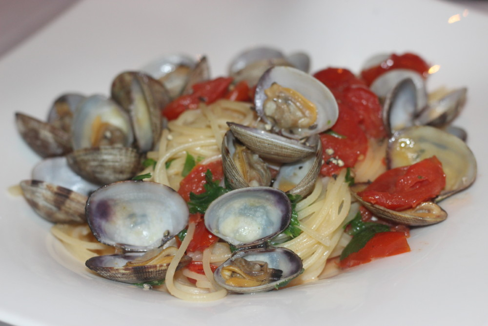 Paradiso Ristorante Lake Worth, Gluten-Free Pasta with Clams