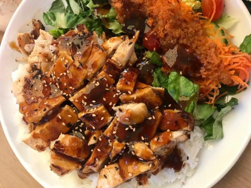 SushiMaki at Whole Foods Boca Raton, Chicken Teriyaki