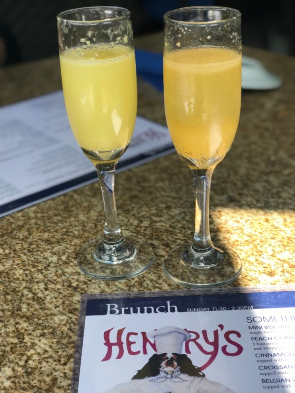 Henry's Delray, Bottomless Mimosas and Bellinis