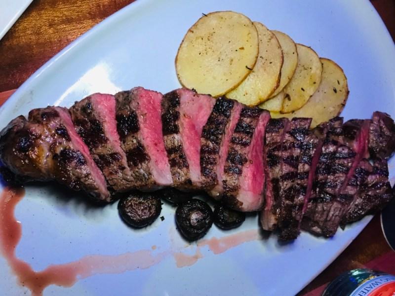 The Balcony Las Olas, Steak