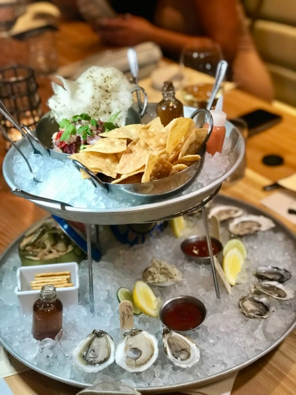 Even Keel Fish & Oyster Fort Lauderdale, Seafood Tower