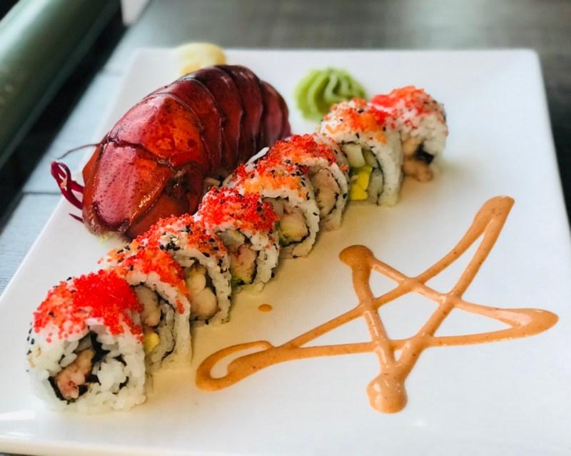 Casa Sensei Fort Lauderdale, Lobster Sushi Roll