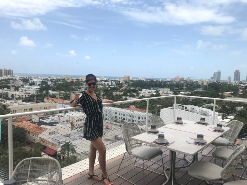Juvia Miami Beach, Rooftop View