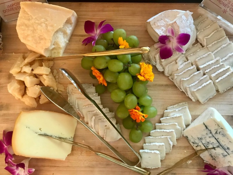 Florie's Palm Beach Brunch, Cheese Display