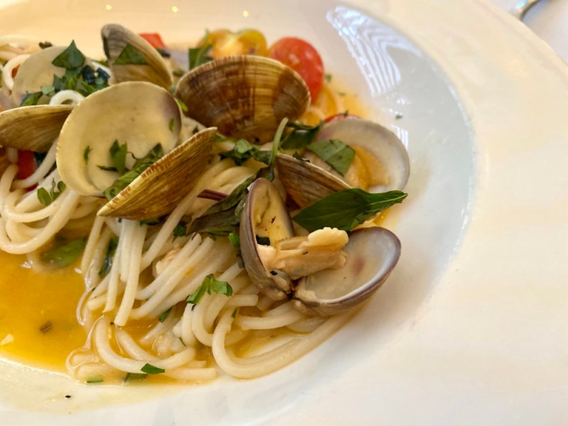Rice Noodles and Clams