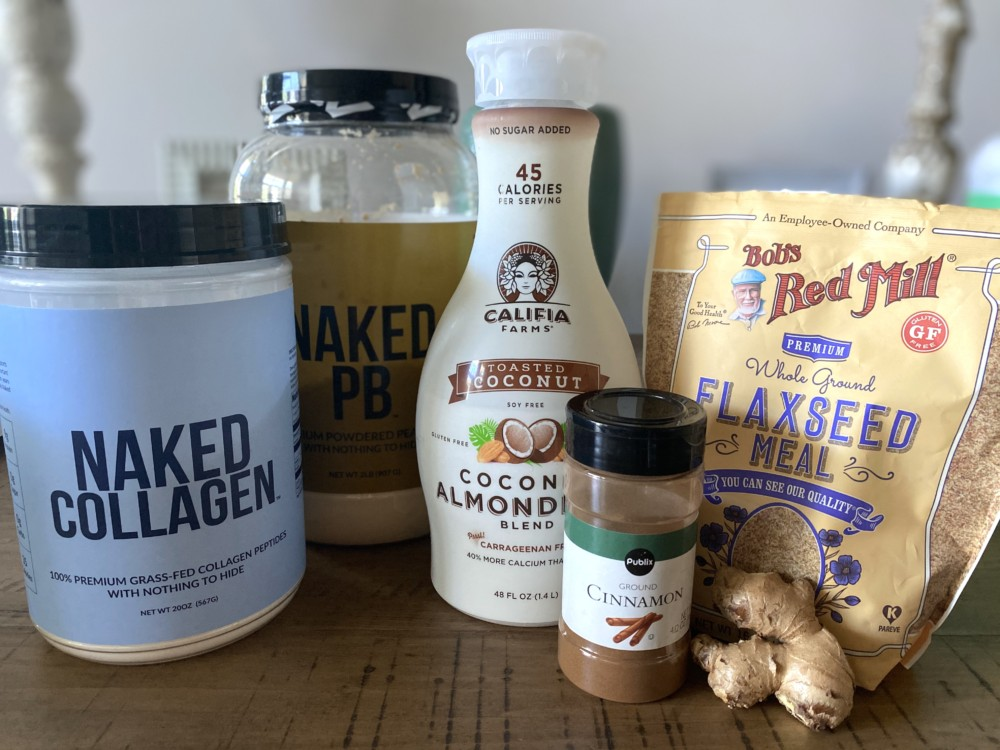 Naked Nutrition, Collagen and Powdered Peanut Butter