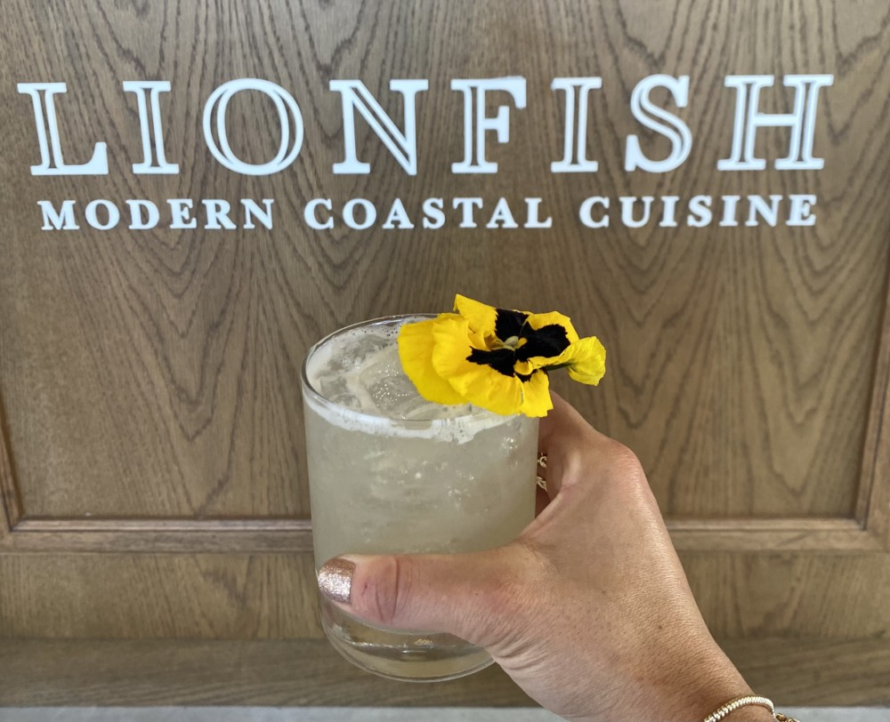 Lionfish Delray Beach Valentine's Day Gin Cocktail