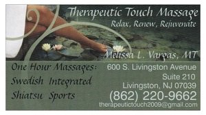 Therapeutic Touch Massage
