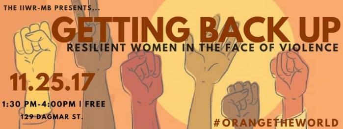 EVENT: Getting Back Up: Resilient Women in the Face of Violence (panel)