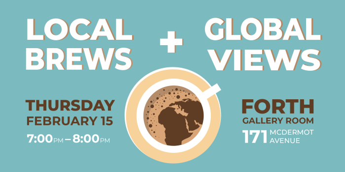 EVENT: Local Brews & Global Views