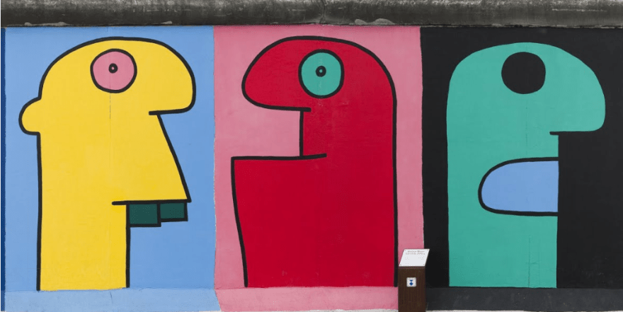 Thierry Noir - Hommage To The Young Generation