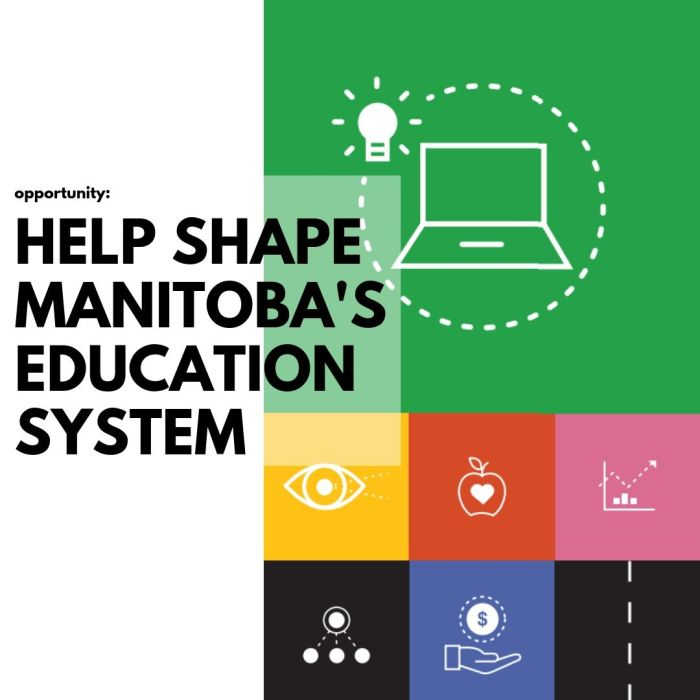 OPPORTUNITY: Help Shape Manitoba's Education System