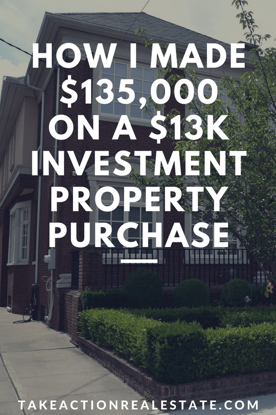 make cash investment property