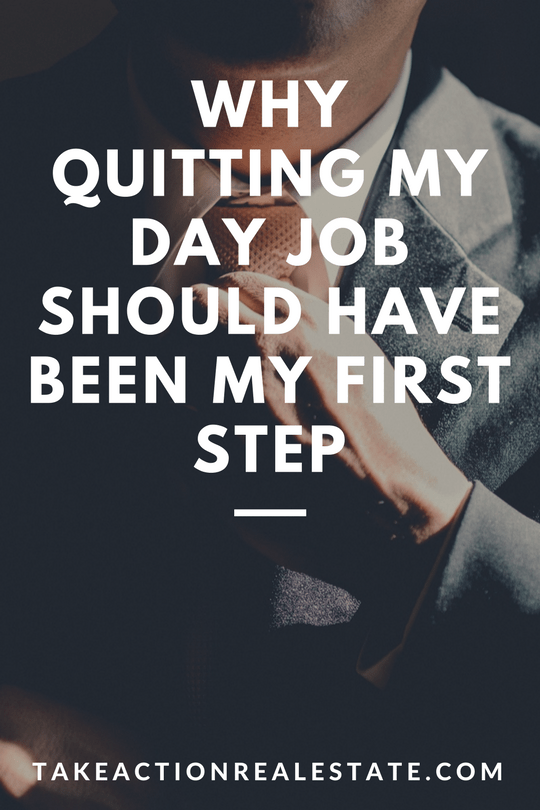 quit day job first blog