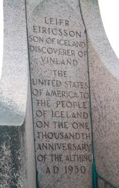 Leif Erikson statue