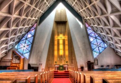 Olafsvik Church Interior