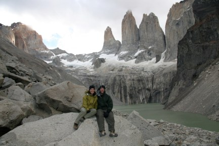 The magnificent towers of Torres del Paine