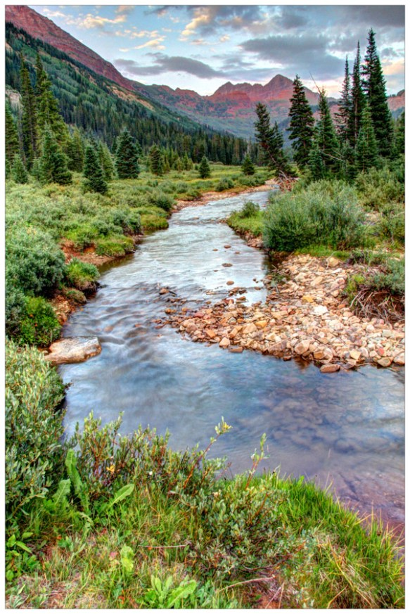 Crystal River and the Maroon Bells